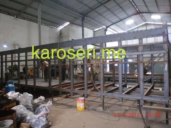 Workshop Karoseri Bak Besi
