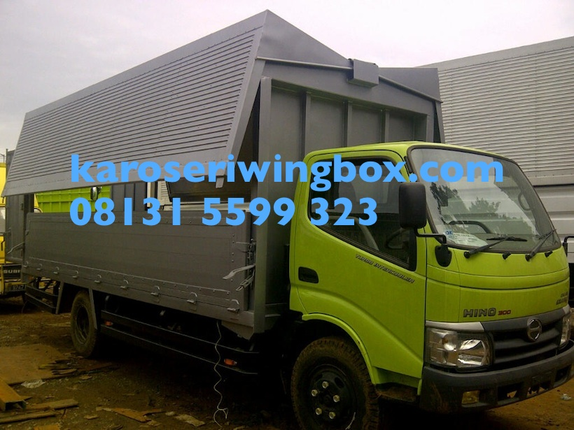 Karoseri wingbox 5 meter