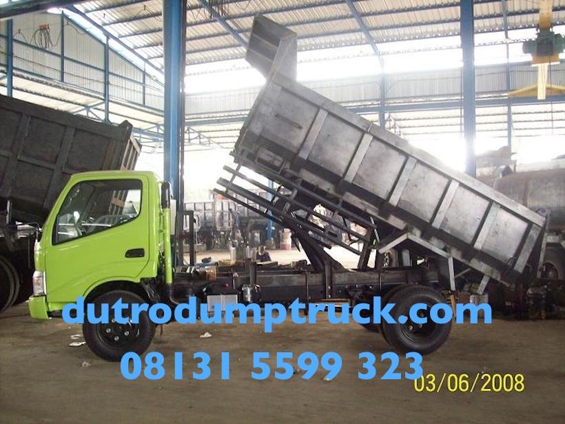 Karoseri dump truck 6 kubik