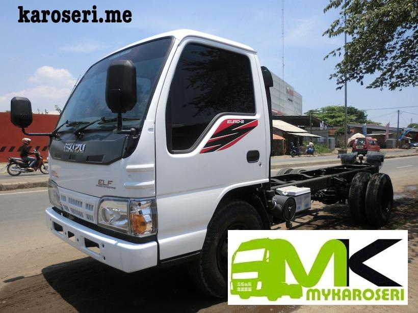 Chassis mobil truk isuzu elf 6 ban