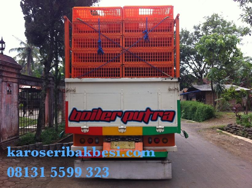 Karoseri Bak Ayam Mitsubishi Canter