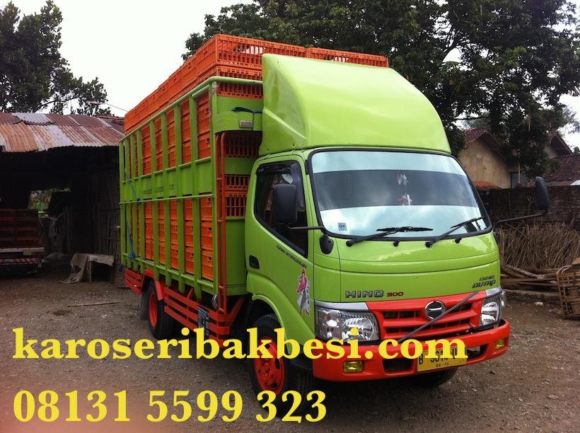 Karoseri Bak Ayam Hino Dutro 130 MD
