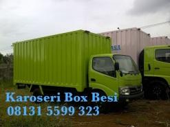 Karoseri Box Besi