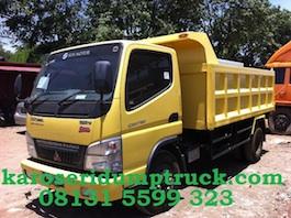 Karoseri dump truck mitsubishi canter new colt diesel