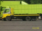 Karoseri bak truk flatbed