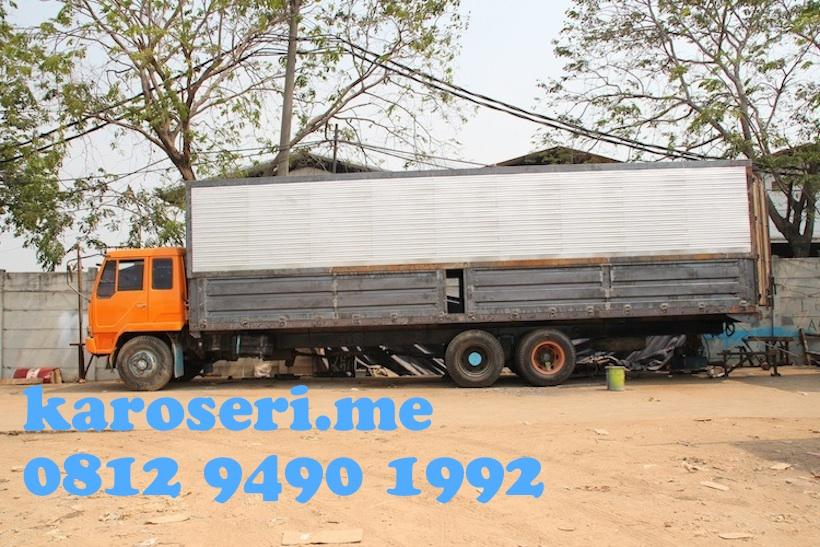 Karoseri Wingbox 9 70 Meter Mitsubishi Fuso Truck Karoseri Skm