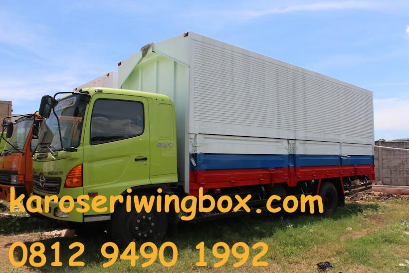 wing box – Laman 2 – Karoseri SKM – Jakarta Utara