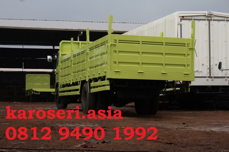 Karoseri bak truk drop side pipa