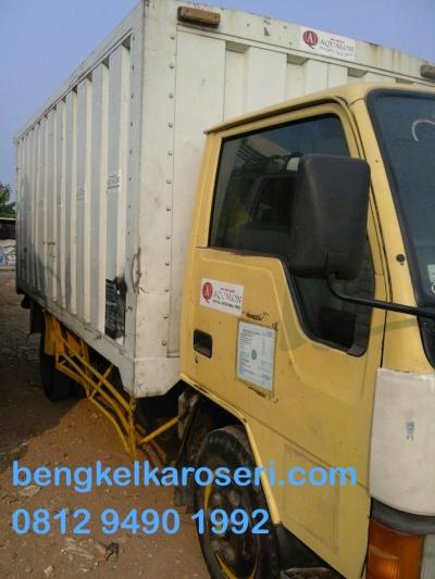box truk akan di ganti bak truk