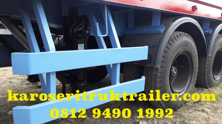 karoseri-trailer-flatbed-trailer-20-ft