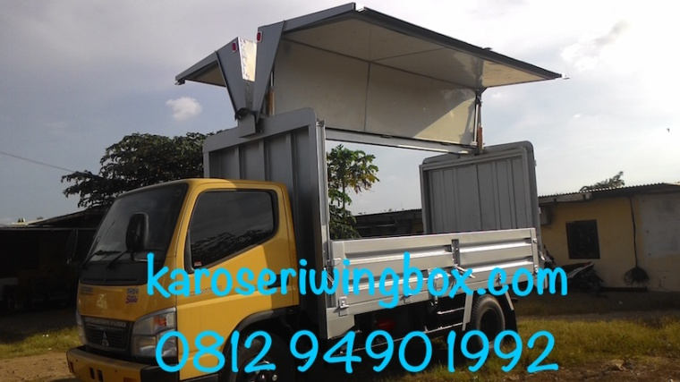 karoseri-wing-box-mitsubishi-canter-colt-diesel-fe-74-super-speed-kiri