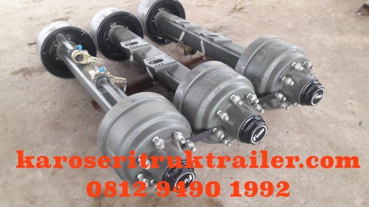 komponen-karoseri-flatbed-trailer-fuwa-axle