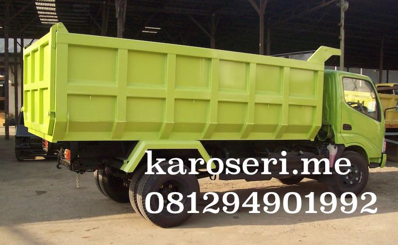 Pilihan karoseri dump truck paling tepat untuk anda