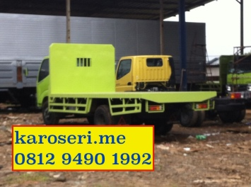 Loose bak truk tanpa dinding, karoseri untuk general kargo