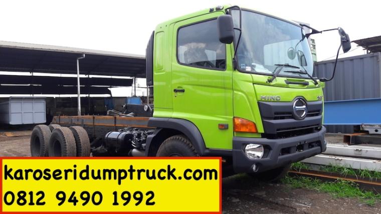 karoseri dump truck hino ranger 2016 FM260JD
