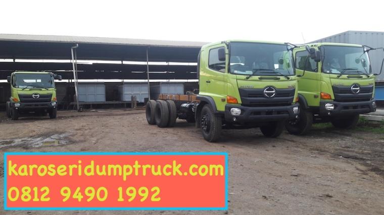 karoseri dump truck joss